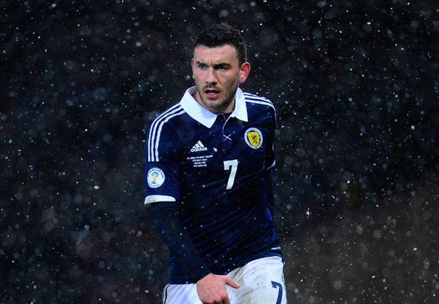 Croatia 0-1 Scotland: Hosts stunned as Strachan's side notch first Group A win