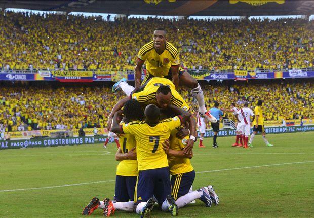 Falcao y Teo Gutiérrez marcaron para la Tricolor