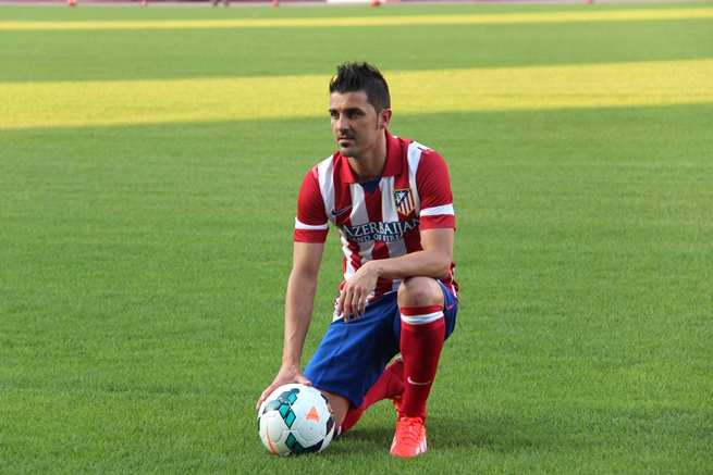 Five players who moved for a World Cup place - David Villa ... 195f97a5c