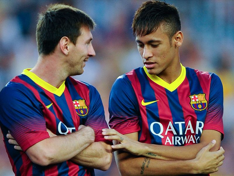 Adriano tips Neymar-Messi to forge lethal partnership