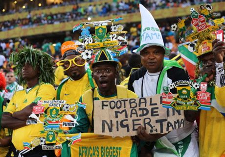How Africa reacted to Bafana and Nigeria draw