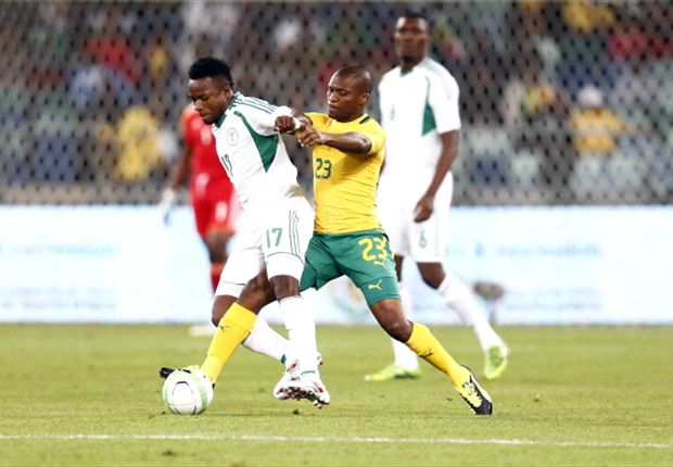 South Africa 0-2 Nigeria: Supersub Uche Nwofor doubles up