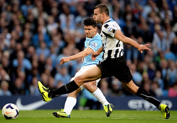 Manchester City 4-0 Newcastle United: Pellegrini off to a flyer against shambolic Magpies