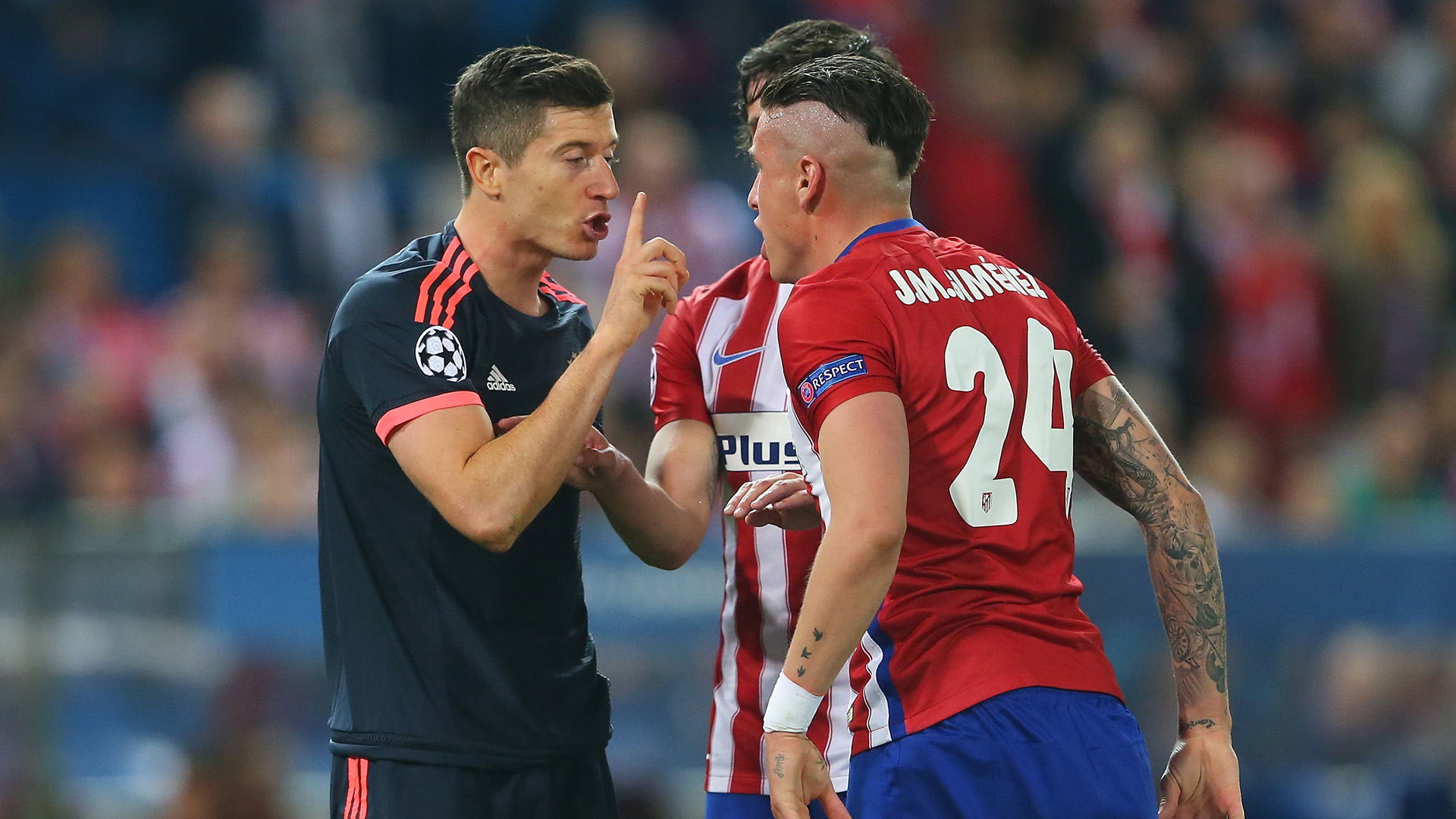 Atletico Madrid 1 0 Bayern Munich Saul Strike Gives Simeone S Men The Advantage In Champions League Semi Final Goal Com