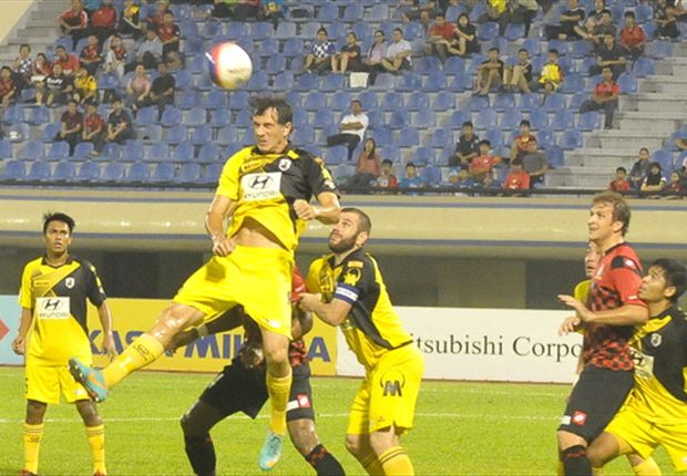 Hat-trick hero Duric leads Stags rout in Brunei