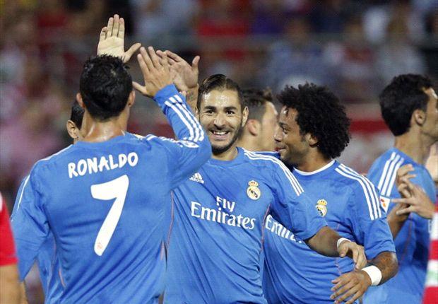 Granada 0-1 Real Madrid: Early Benzema strike proves decisive
