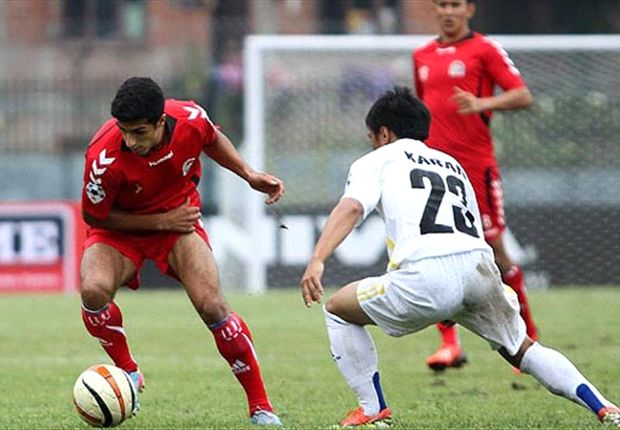 Afghanistan made to sweat for their 3-0 win (Photo: goalnepal.com)