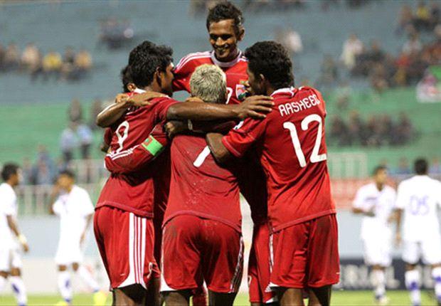Maldives 10-0 Sri Lanka: A peerless double hat-trick from Ashfaq sees the Lankan Lions annihilated