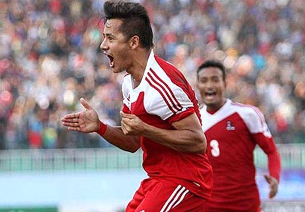Hapless India go down to Nepal (Photo: Goalnepal.com)