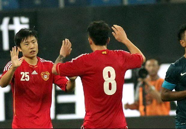 China put six past hapless Lions