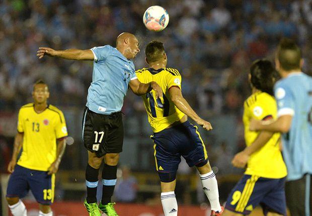 Uruguay 2-0 Colombia: Cavani y Stuani se toman un café