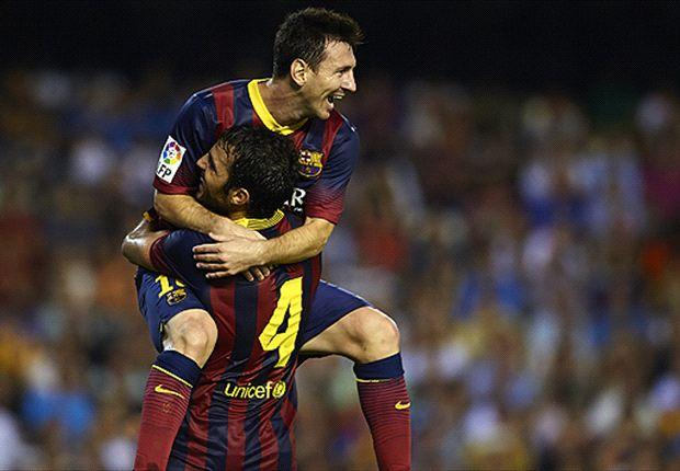 Barcelona va por su cuarto triunfo en fila