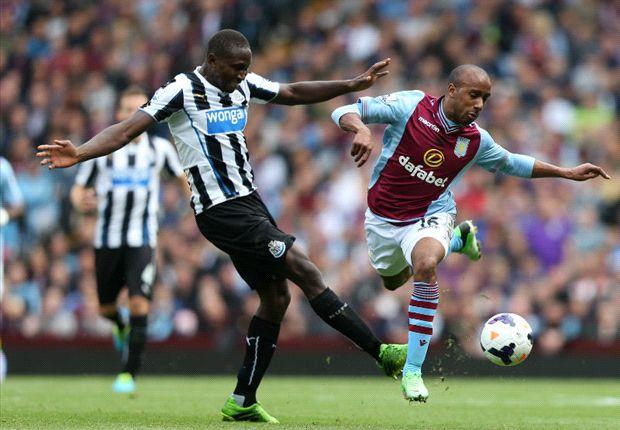 Aston Villa 1-2 Newcastle: Late Gouffran winner lifts Pardew's men
