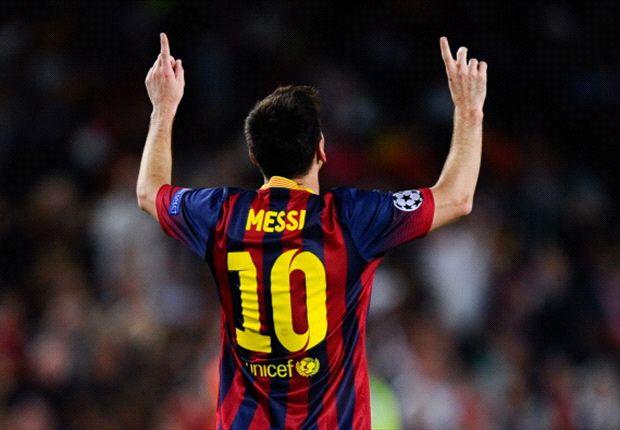 Barcelona 4-0 Ajax: Messi hat-trick seals convincing win