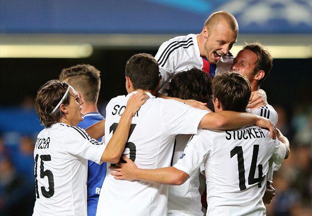 Chelsea 1-2 Basel: Salah and Streller stun Stamford Bridge
