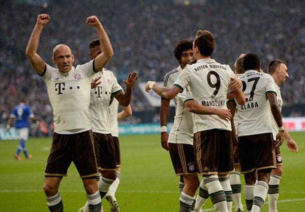 Die Bayern ließen Schalke keine Chance