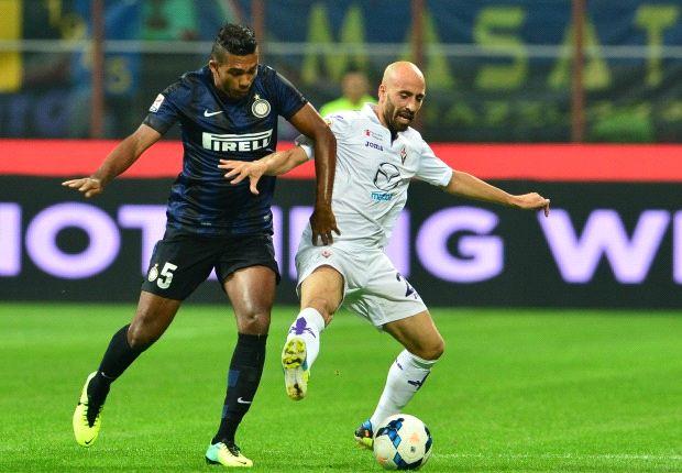 Inter 2-1 Fiorentina: Jonathan sends Mazzarri's men second