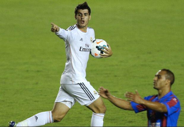 Levante-Real Madrid 2-3: E' Ronaldo il salva-Carletto, i blancos rimontano nel recupero da 2-1 a 2-3