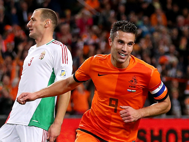 Netherlands top five forwards