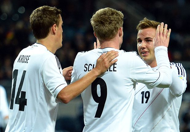 Sweden 3-5 Germany: Schurrle hits hat-trick in eight-goal thriller