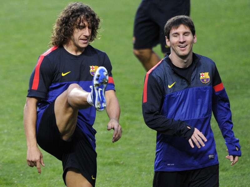 Messi Puyol