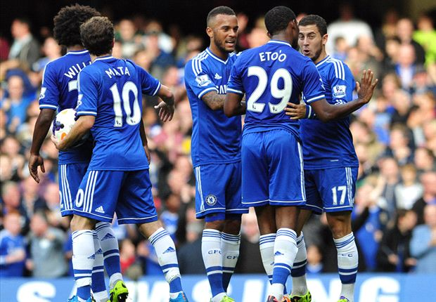 Chelsea 4-1 Cardiff City: Hazard bags double as Blues bounce back from behind