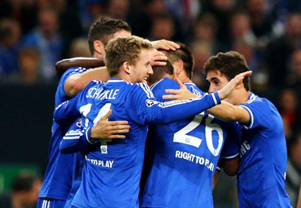 Schalke 0-3 Chelsea: Impressive Torres bags double