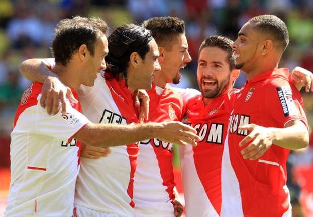 Monaco 2-1 Lyon: Falcao sends Ranieri's men top