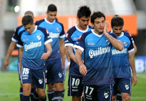 Estudiantes se quedó con el triunfo ante Quilmes.