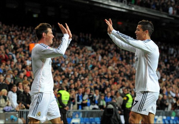 Real Madrid 7-3 Sevilla: Seventh heaven for Bale & Ronaldo