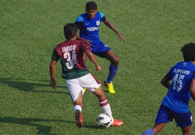 Dempo SC 0-0 Mohun Bagan: The Goans were held to a disappointing draw