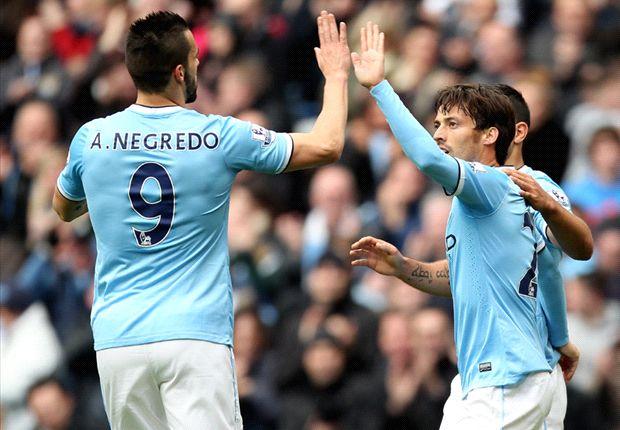 Manchester City no le dio oportunidades a Norwich y lo goleó 7-0 en Etihad Stadium.