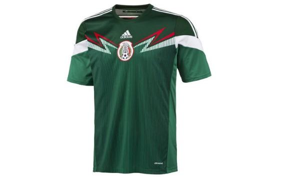 Playeras de México en los Mundiales - Brasil 2014 - Goal.com c83ff43459d1a
