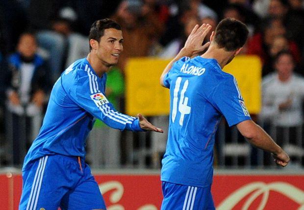 Almeria 0-5 Real Madrid: Ancelotti's men cruise but hit with Ronaldo injury blow