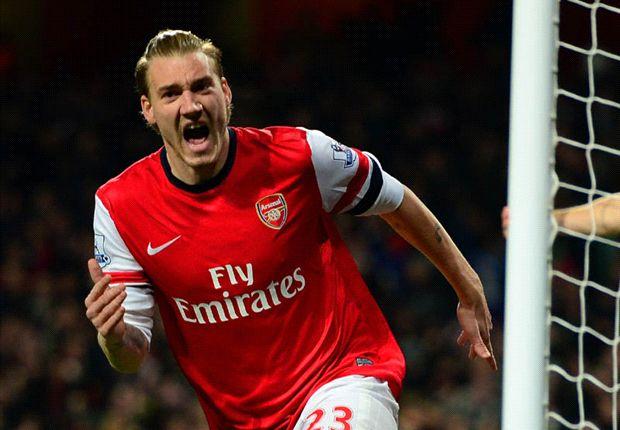 Arsenal 2-0 Hull City: Bendtner and Ozil see off Tigers