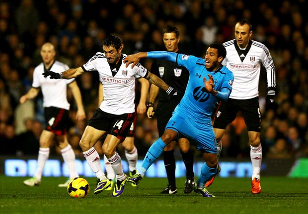 Fulham 1-2 Tottenham: Late Holtby strike ruins Meulensteen debut