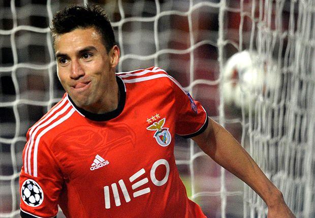 Benfica 2-1 Paris Saint-Germain: Gaitan goal not enough for Jesus' men