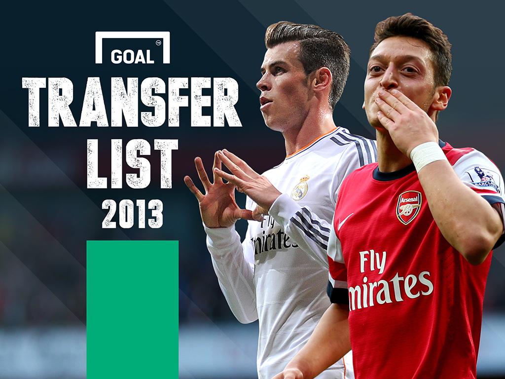 Goal Transfer List 2013