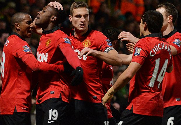 Norwich City 0-1 Manchester United: Welbeck winner maintains champions' streak