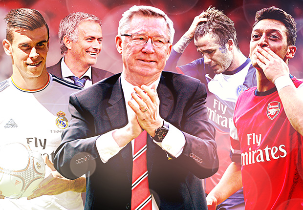 Goal 2013 Review: Fergie farewell, Bale Madrid, Ozil & more