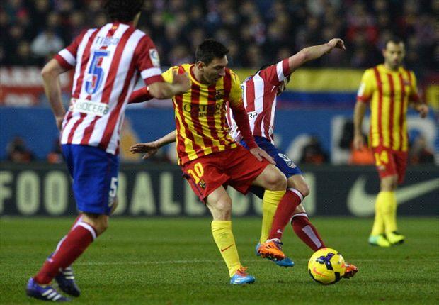 Atletico Madrid 0-0 Barcelona: Simeone's men hold La Liga champions