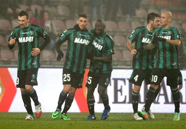 Sassuolo 4-3 AC Milan: History-maker Berardi leaves Rossoneri red-faced