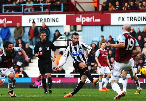 West Ham 1-3 Newcastle: Cabaye & Remy pile pressure on Allardyce
