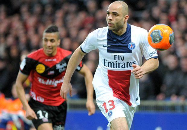 Guingamp 1-1 Paris Saint-Germain: Late Alex goal lets Parisiens limp to draw