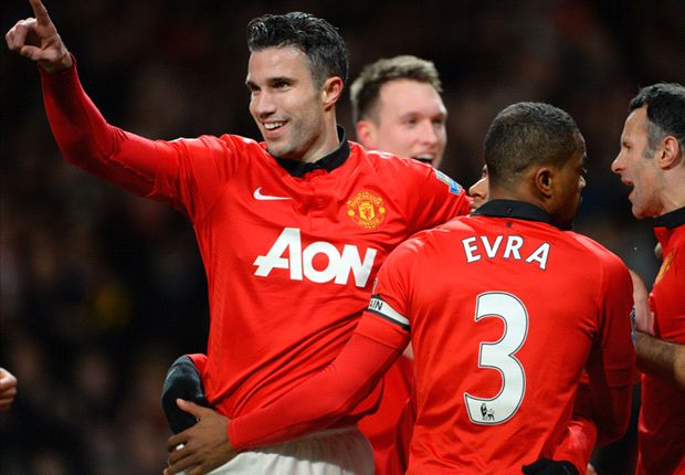 Manchester United 2-0 Cardiff City: Van Persie & Young strike on Mata debut