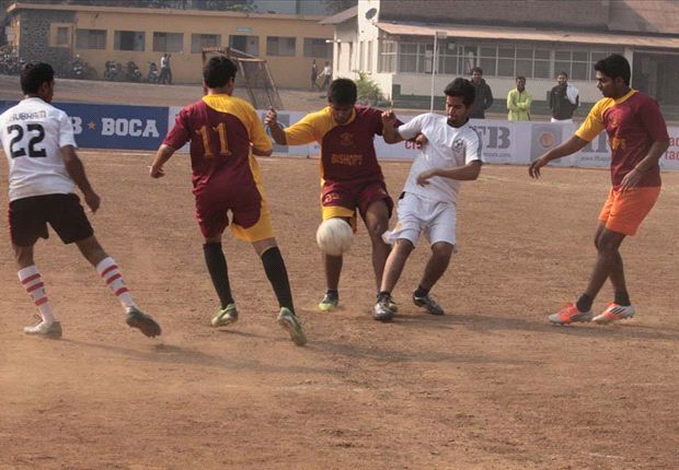 Action from the Pune leg