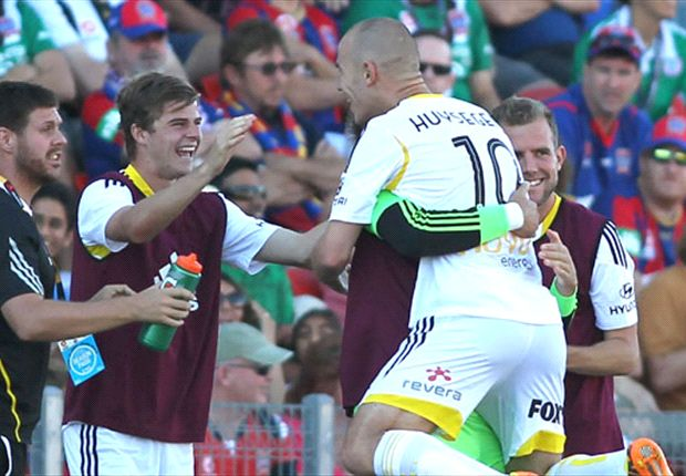 Newcastle Jets 2-3 Wellington Phoenix: Hicks wins it for visitors