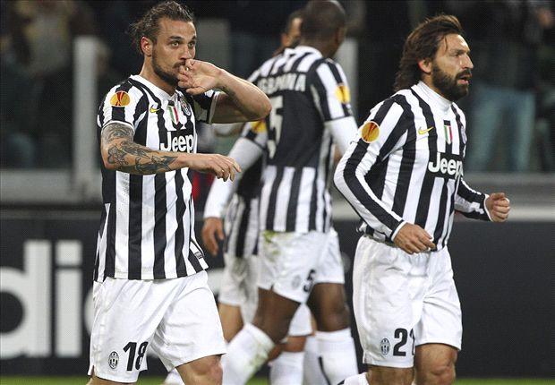 Marchisio in azione: 2-0 Juventus sul Trabzonspor