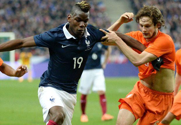 フランス、ホームでオランダに快勝