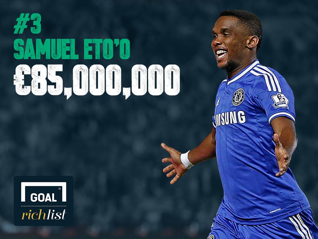 Classement Goal 2014 Des Joueurs Les Plus Riches 3 Samuel Eto O